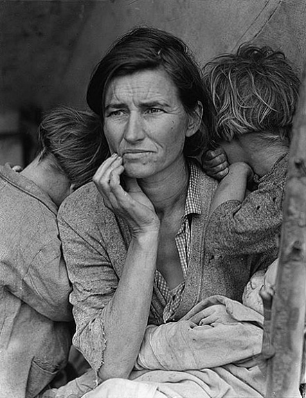 Dorthea Langes Photo Of The Great Depression