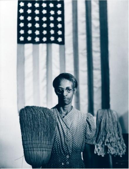 Dorthea Langes Photo Of The Great Depression Gordon Parks American Gothic Mrs Ella Watson Washington DC