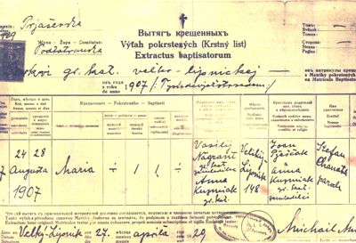 Velky lipnik karen on humzoo he got sick and anna followed him back to slovakia the birth certificate gives us so little information maria was baptized in the greek catholic church yelopaper Image collections